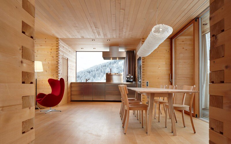 Wooden Houses Designed with Large Pictures Windows (13)