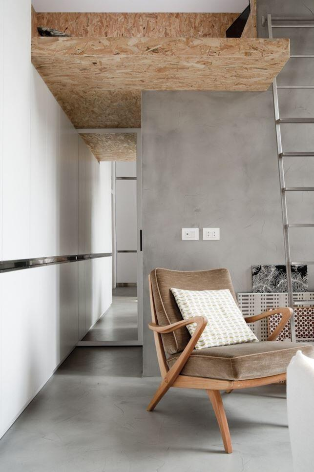 30 sqm Loft Refurbished in Milano (10)