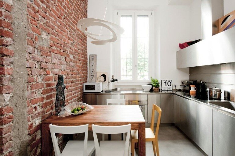 30 sqm Loft Refurbished in Milano (14)