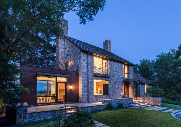 Alexandria Residence Evokes the Traditional Farmhouses (8)