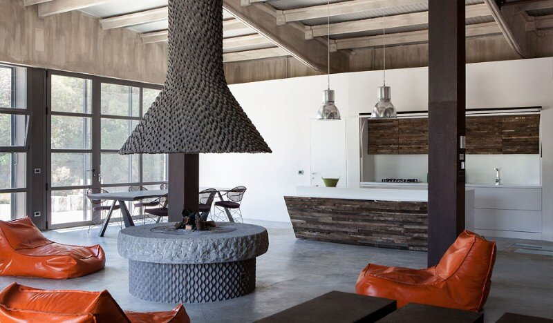 Art Hangar Modern Loft Built in the Middle of Tuscan Countryside (3)