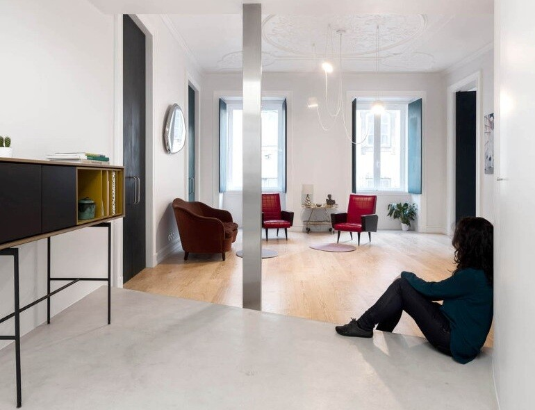 Chiado Apartment in Lisbon, Fala Studio