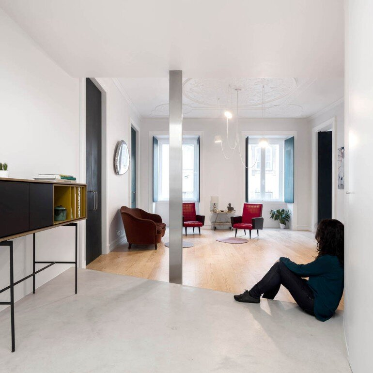 Chiado Apartment in Lisbon, Fala Studio (1)