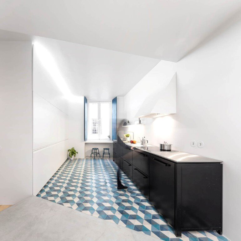 Chiado Apartment in Lisbon, Fala Studio (11)