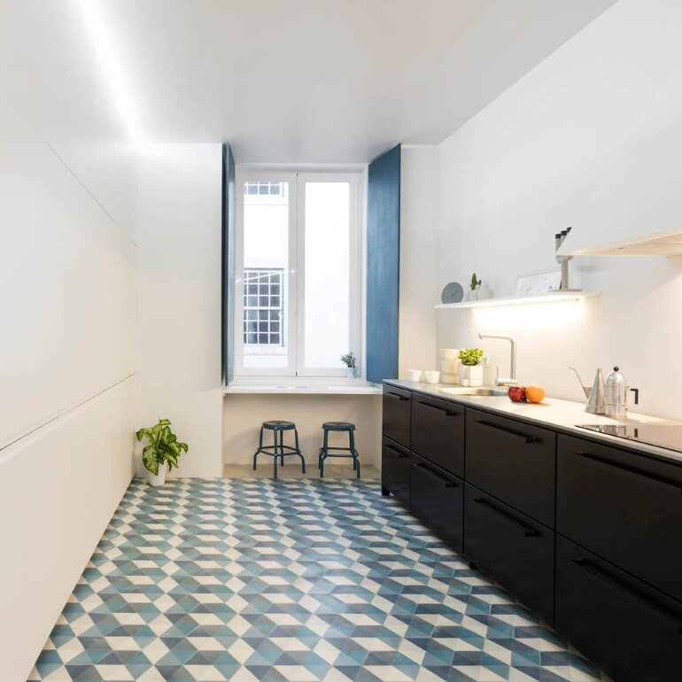 Chiado Apartment in Lisbon, Fala Studio (19)