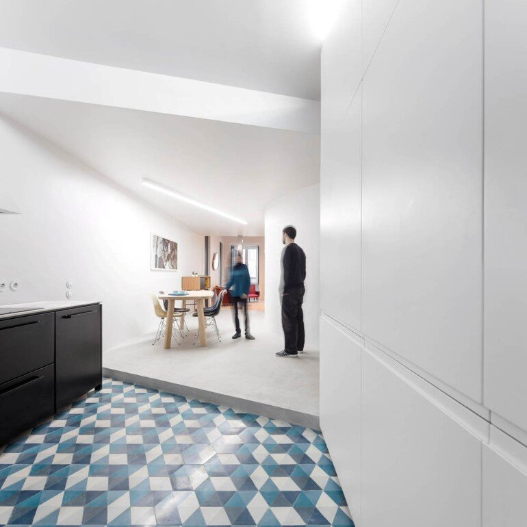Chiado Apartment in Lisbon, Fala Studio (3)