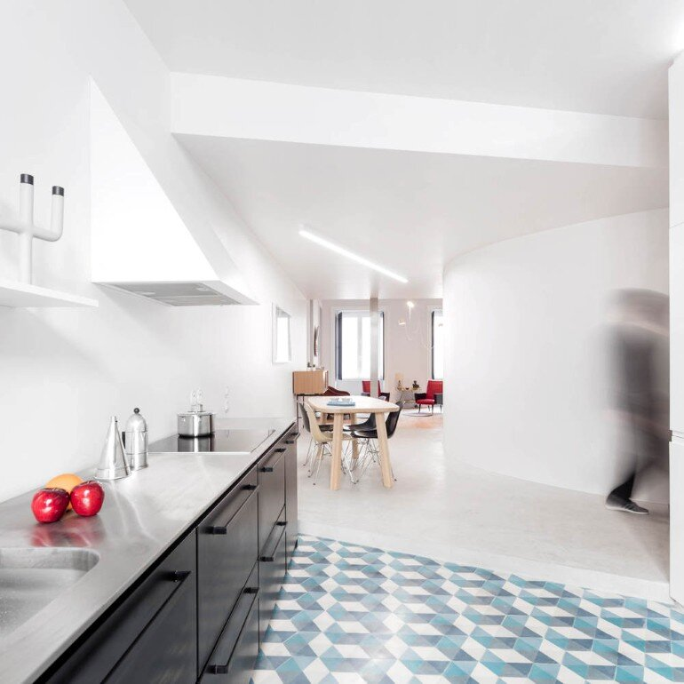 Chiado Apartment in Lisbon, Fala Studio (5)
