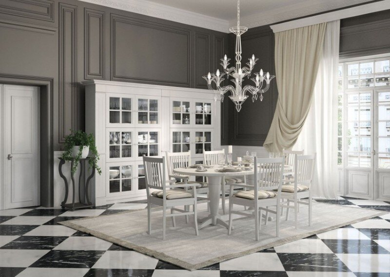 English Mood Collection - Apartment in Paris by Minacciolo