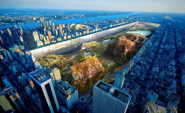 New York Horizon Project Creates the Illusion of Infinity in the Heart of New York City