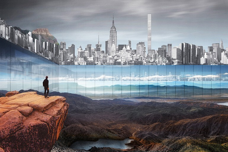 New York Horizon Project Creates the Illusion of Infinity in the Heart of New York City (2)