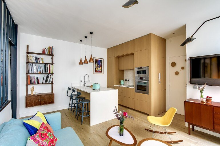 Small 36 Square Meters Apartment Design Optimized By Transition Interior 6