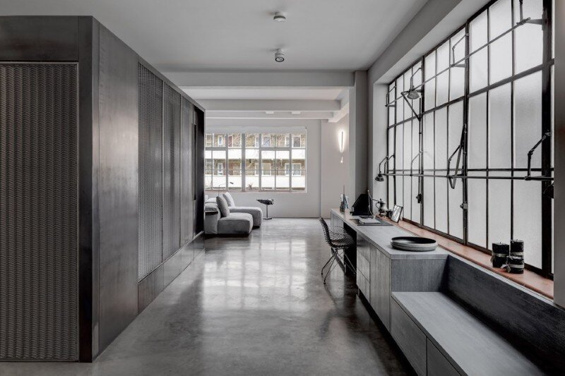 Theatrical Apartment - Industrial London Warehouse Conversion (1)