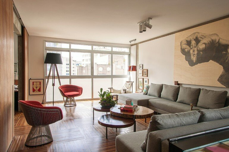 Urimonduba Apartment is a Mix of Genres and Styles (1)