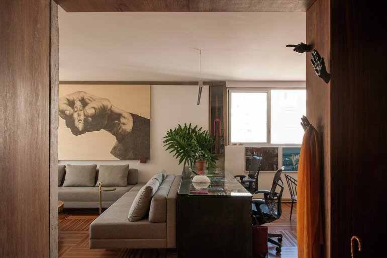 Urimonduba Apartment is a Mix of Genres and Styles (8)