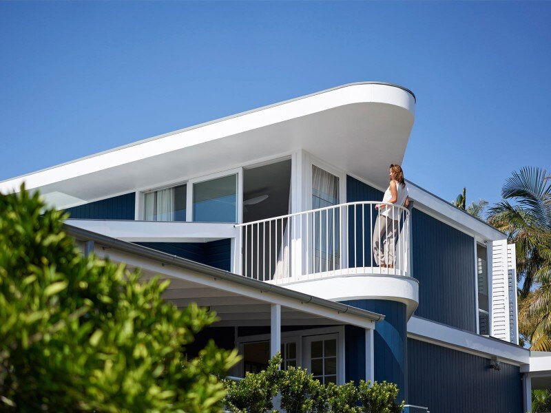 Beach house on stilts restful retreat with privileged for Beach house view