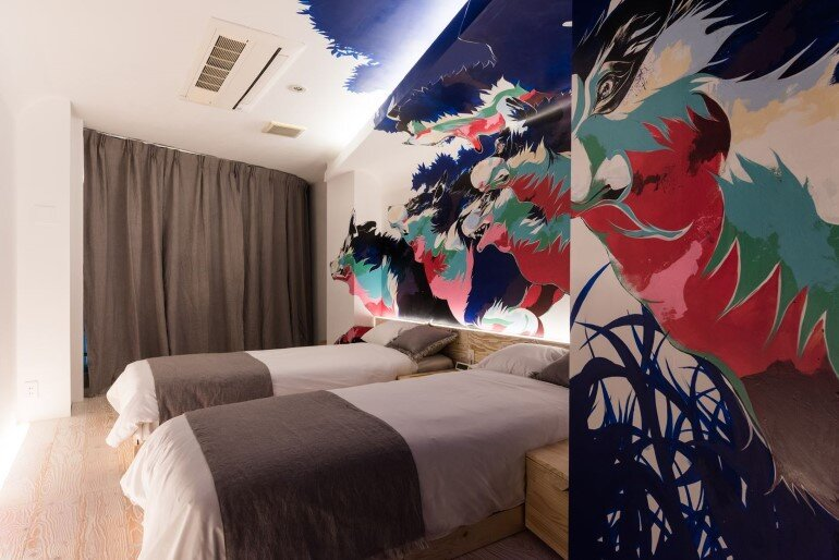 BnA Hotel Koenji - For Those Who Want to Be Cocooned Inside Overnight Unique Artwork (1)