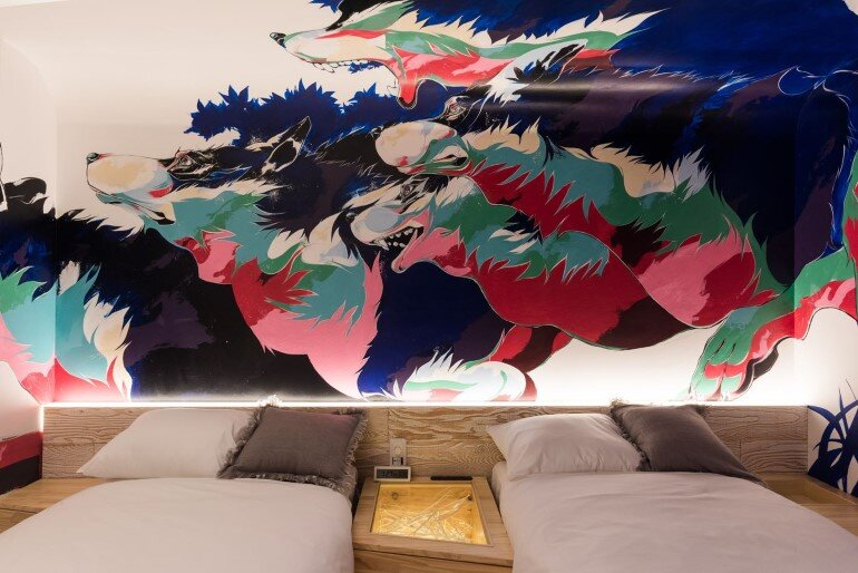 BnA Hotel Koenji - For Those Who Want to Be Cocooned Inside Overnight Unique Artwork (2)