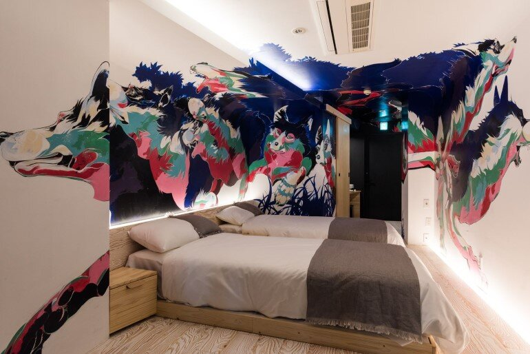 BnA Hotel Koenji - For Those Who Want to Be Cocooned Inside Overnight Unique Artwork (23)