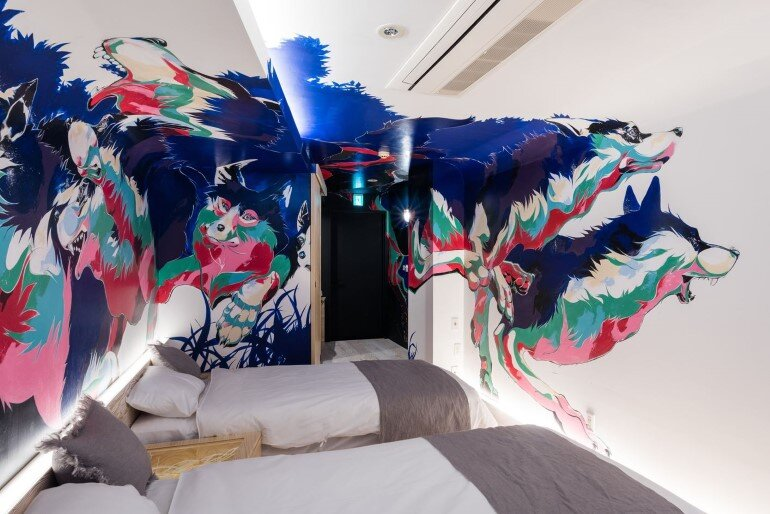 BnA Hotel Koenji - For Those Who Want to Be Cocooned Inside Overnight Unique Artwork (5)