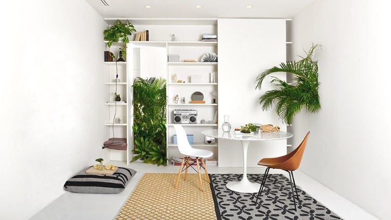 Brazilian Taste - Office Turned into a Fresh and Elegant Living Space (11)