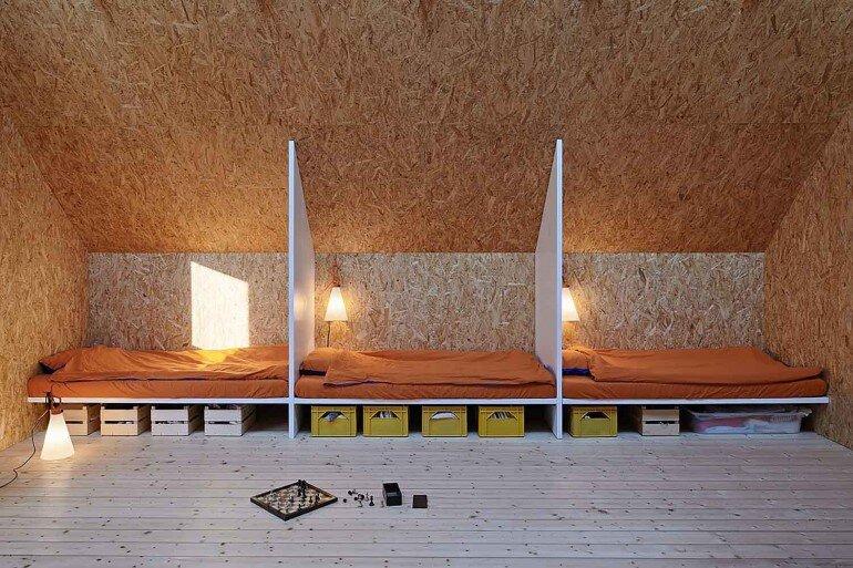 Classic Nordic Cabin - Husarö House by Tham & Videgård Arkitekter (13)