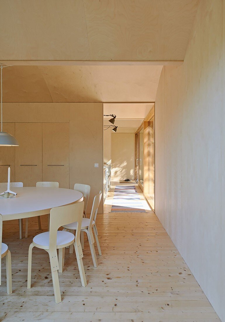 Classic Nordic Cabin - Husarö House by Tham & Videgård Arkitekter (9)
