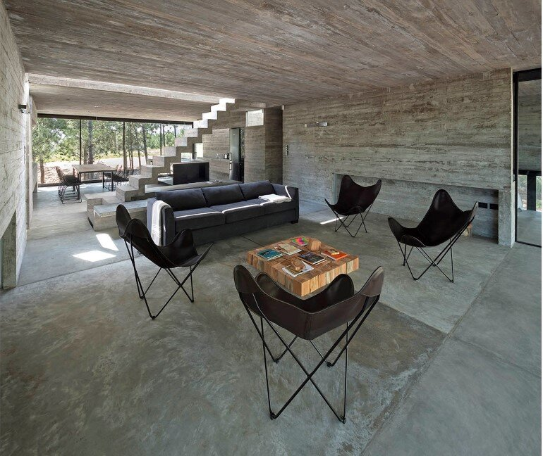 Concrete Holiday Retreat in Argentina by Luciano Kruk (11)