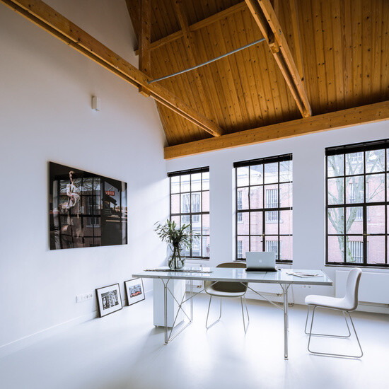 EVA Architecten have transformed an old workshop into a charming apartment (2)