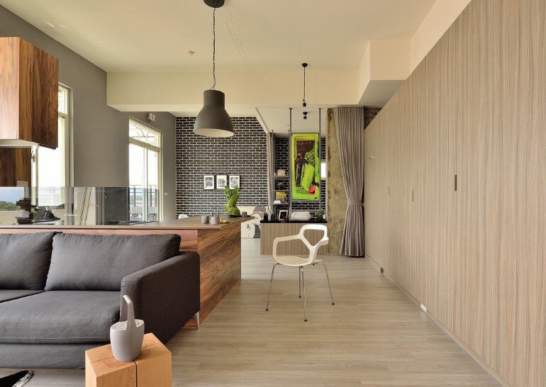 Feast in Green - Functionality And Warmth In a One-Storey Home (6)