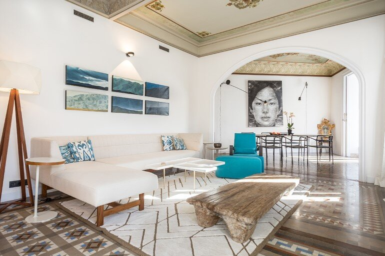 Flat in Eixample – Exotic Balance of Style