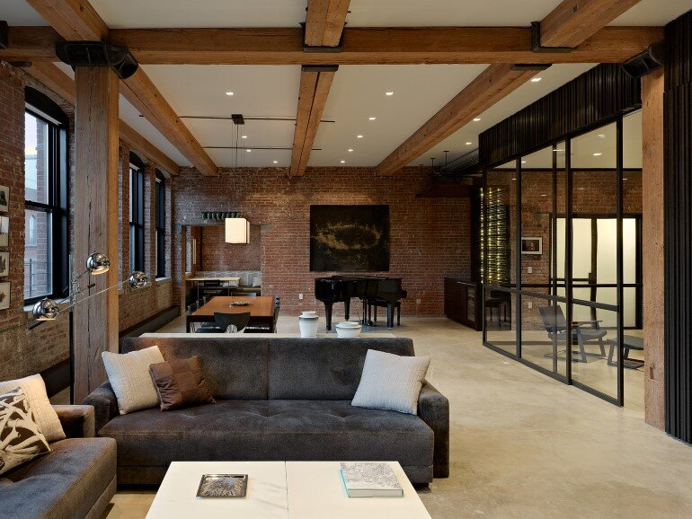 Highline Chelsea Loft by Robertson Tait / New York