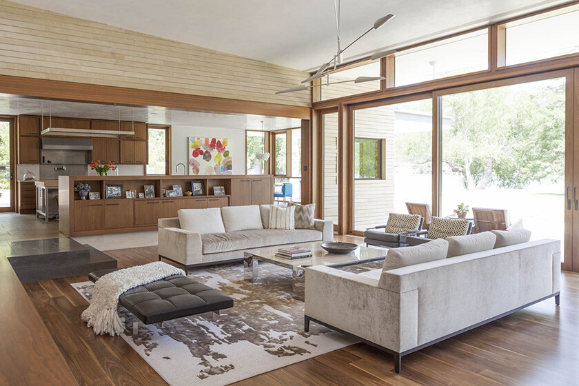 Lake Austin House by Aamodt Plumb Architects (7)