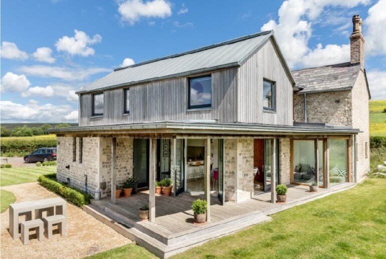 Laurel House - Contemporary Extension for a Delightful Traditional Cottage (5)