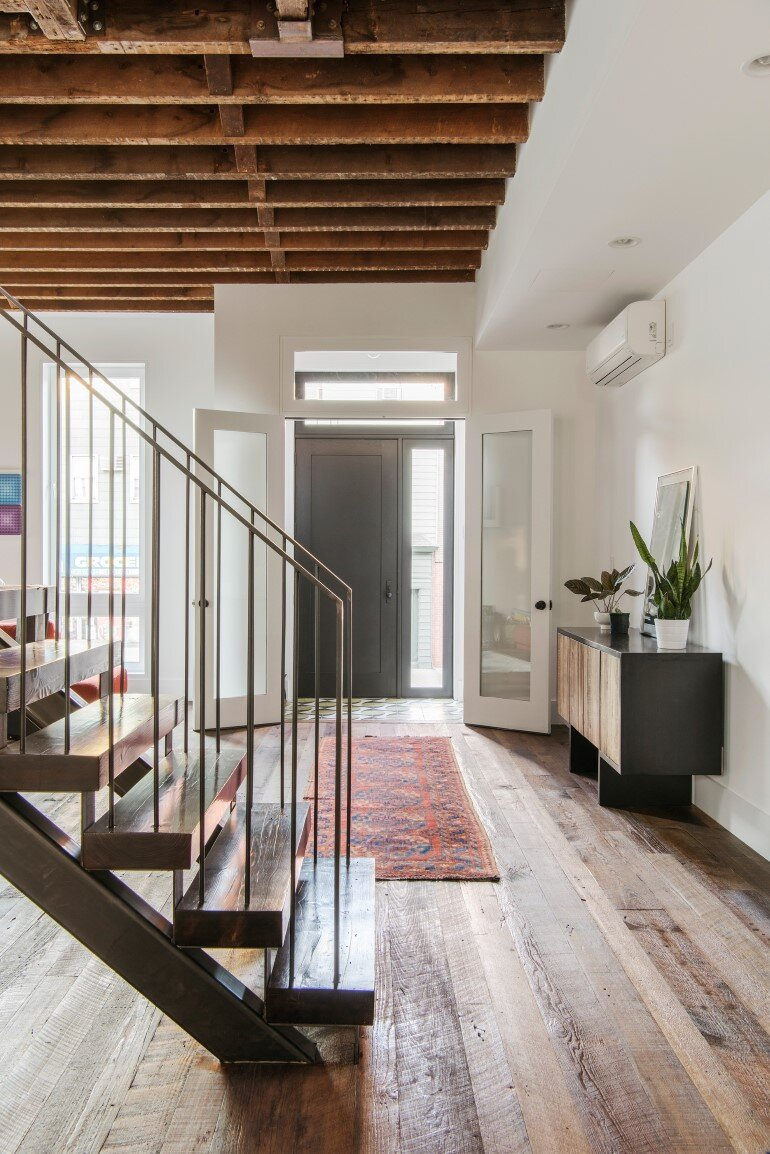 Lorimer Street Townhouse Loft Home For A Family Of Four