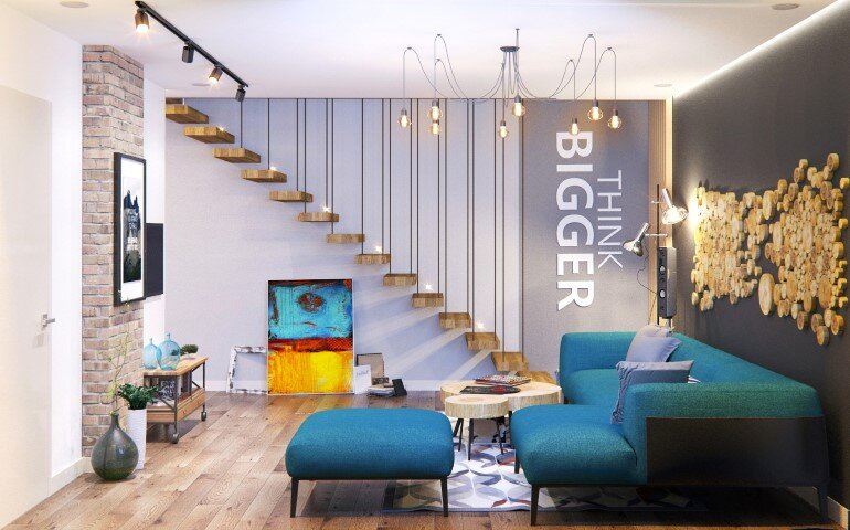 Lounge Loft in Kiev by Leopolis Architecture (1)