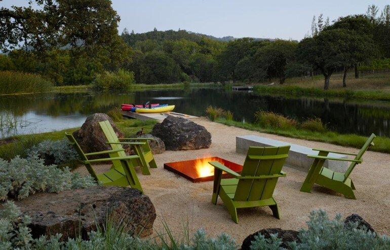 Net-Zero House Designed for OutdoorIndoor Summer Living - Sonoma Residence (14)