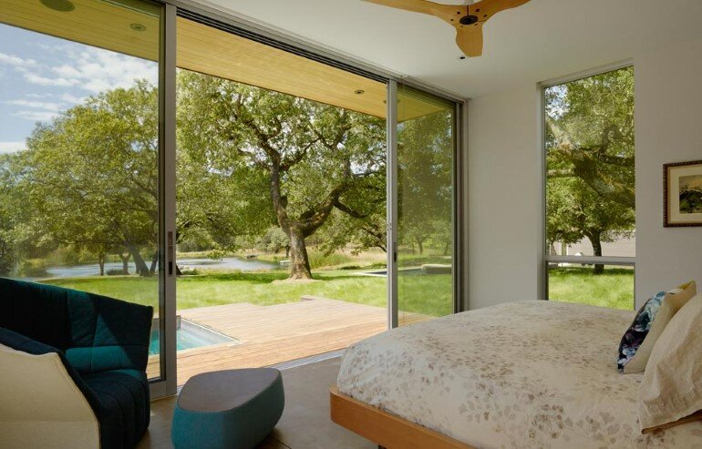 Net-Zero House Designed for OutdoorIndoor Summer Living - Sonoma Residence (8)