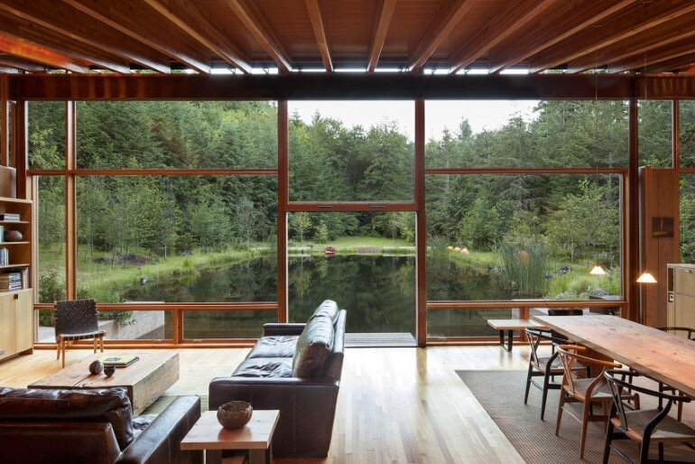 Newberg residence by cutler anderson architects for Anderson architects