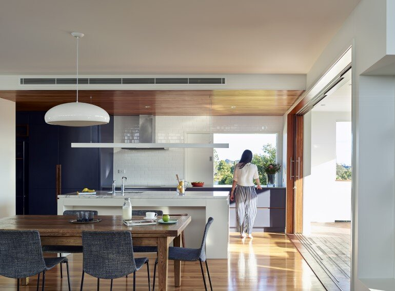 Nundah House Has Simple Forms Balanced with Contrasting Colours 2