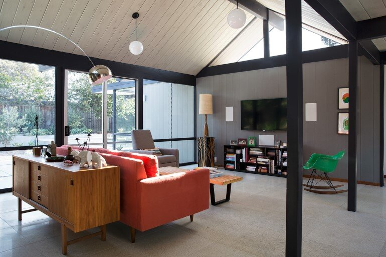 Renewed Classic Eichler Home in Silicon Valley by Klopf Architecture (16)
