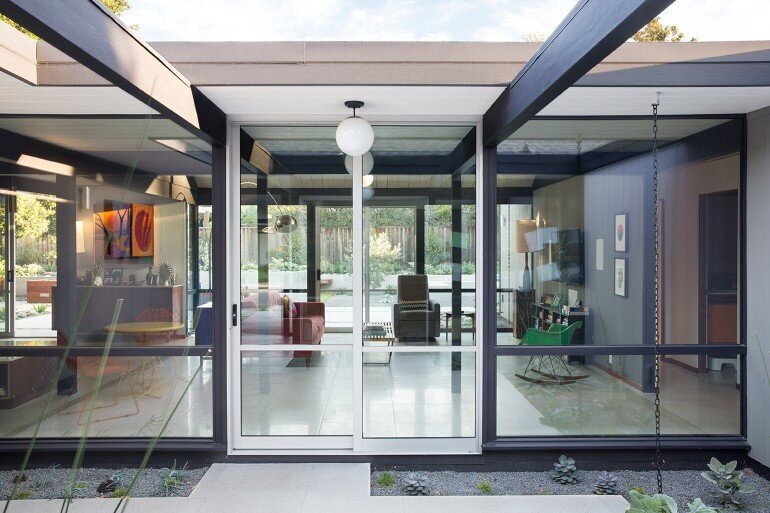 Renewed Classic Eichler Home in Silicon Valley by Klopf Architecture (4)