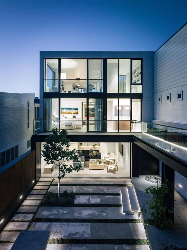 San francisco modern house by john maniscalco architecture for Modern homes san francisco
