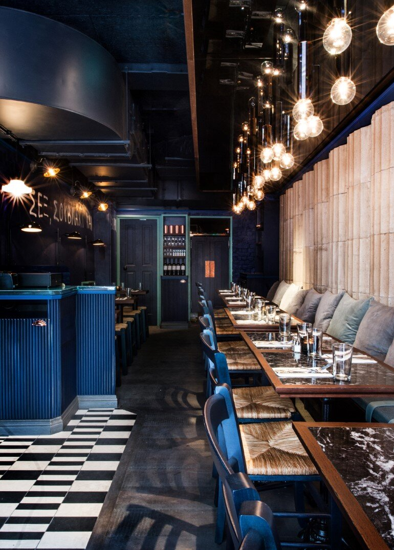 Suvlaki Restaurant Reflects An Authentic Urban Side Of Greece