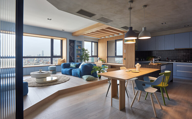 This Family Apartment is A Boundless Space of Joy and Delectable Delights (7)