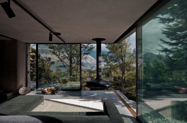 This Mountain Retreat is a Subtle Insertion in the Alpine Landscape (3)