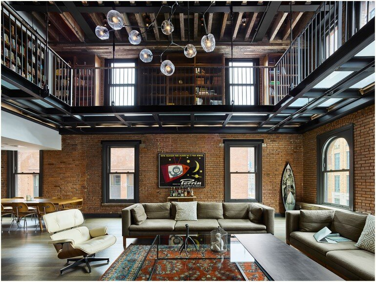 Tribeca Loft - 1892 Building Transformed into a House in St Hubert 10, NY (8)