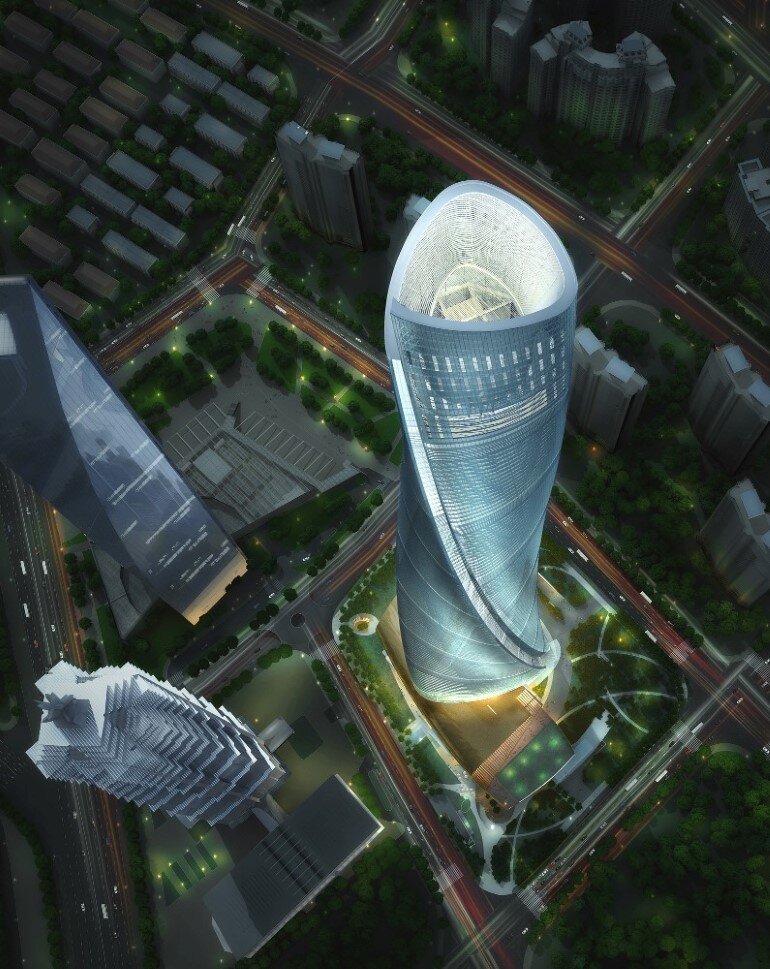 632 meter-tall Shanghai Tower Ranks as China's Tallest Building (4)