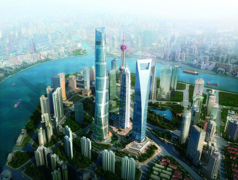 632 meter-tall Shanghai Tower Ranks as China's Tallest Building (6)