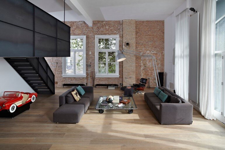 Canal House - Industrial Loft with Character in Amsterdam  (18)