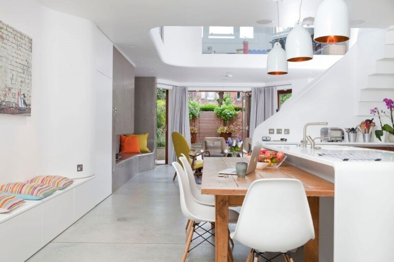 Complete renovation of a Victorian terrace house, West Hampstead (9)